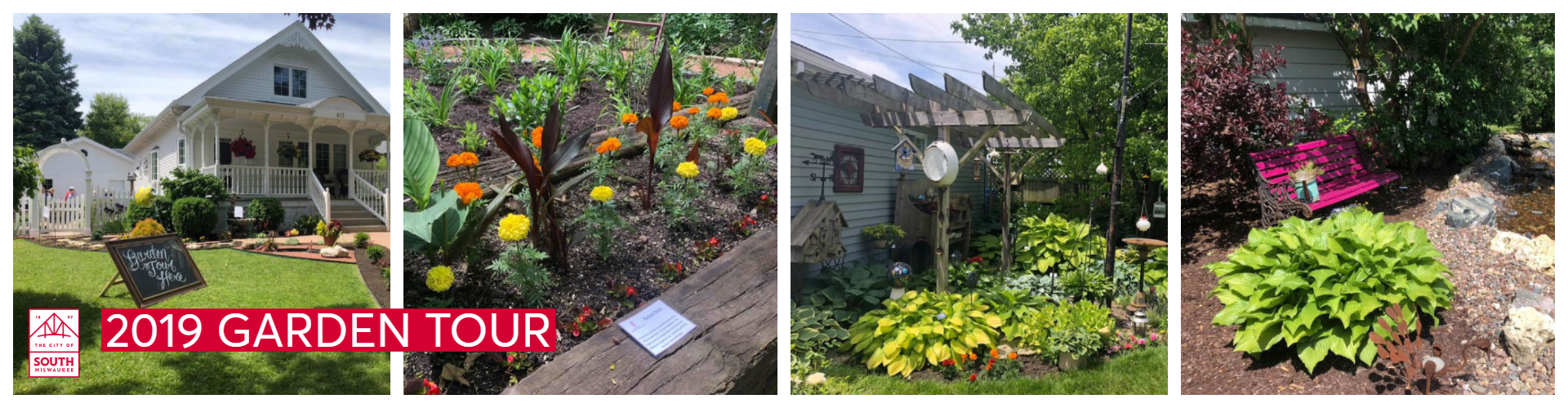 Images of the 2019 Garden Tour