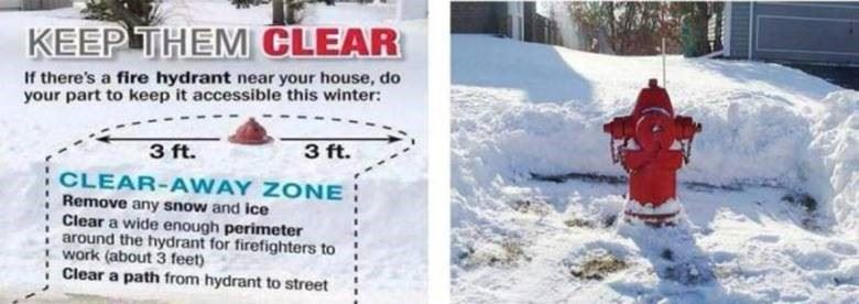 Keep a Fire Hydrant Clear